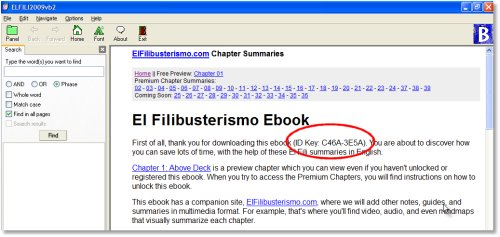 El Fili Ebook Computer ID Key
